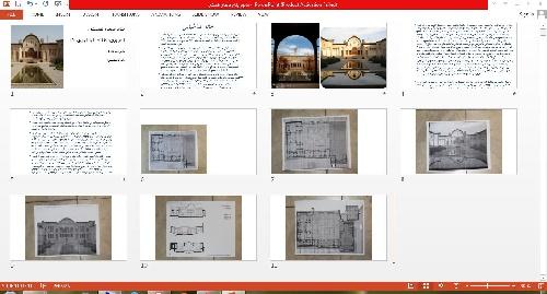1763421 - پاورپوینت خانه طباطبایی ها و ورد معماری بیونیک